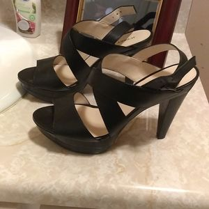 Audrey Brooke crisscross heels